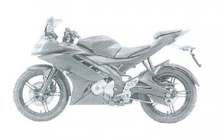 Yamaha R15 spyshot